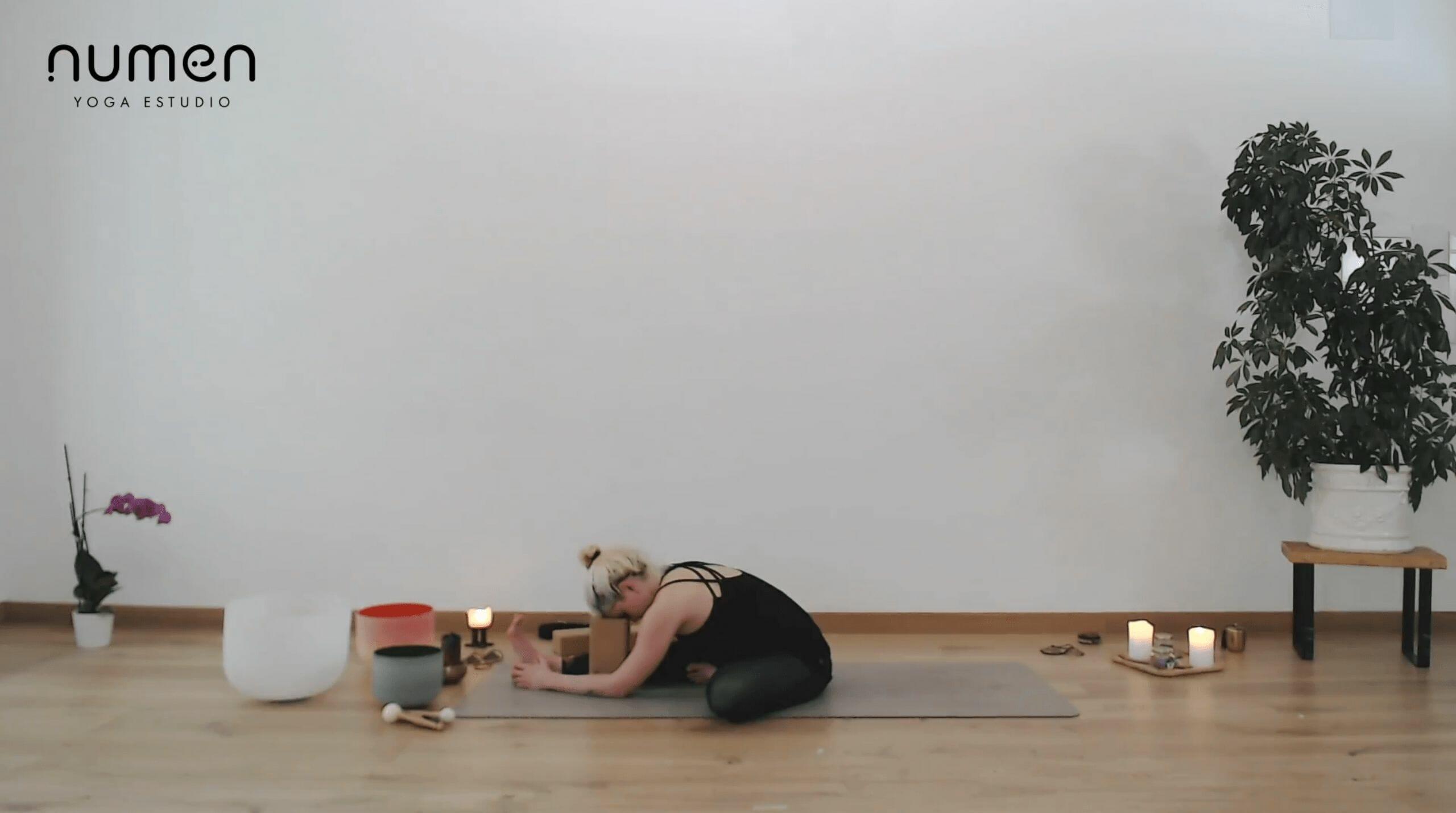 Yin yoga para una espalda relajada