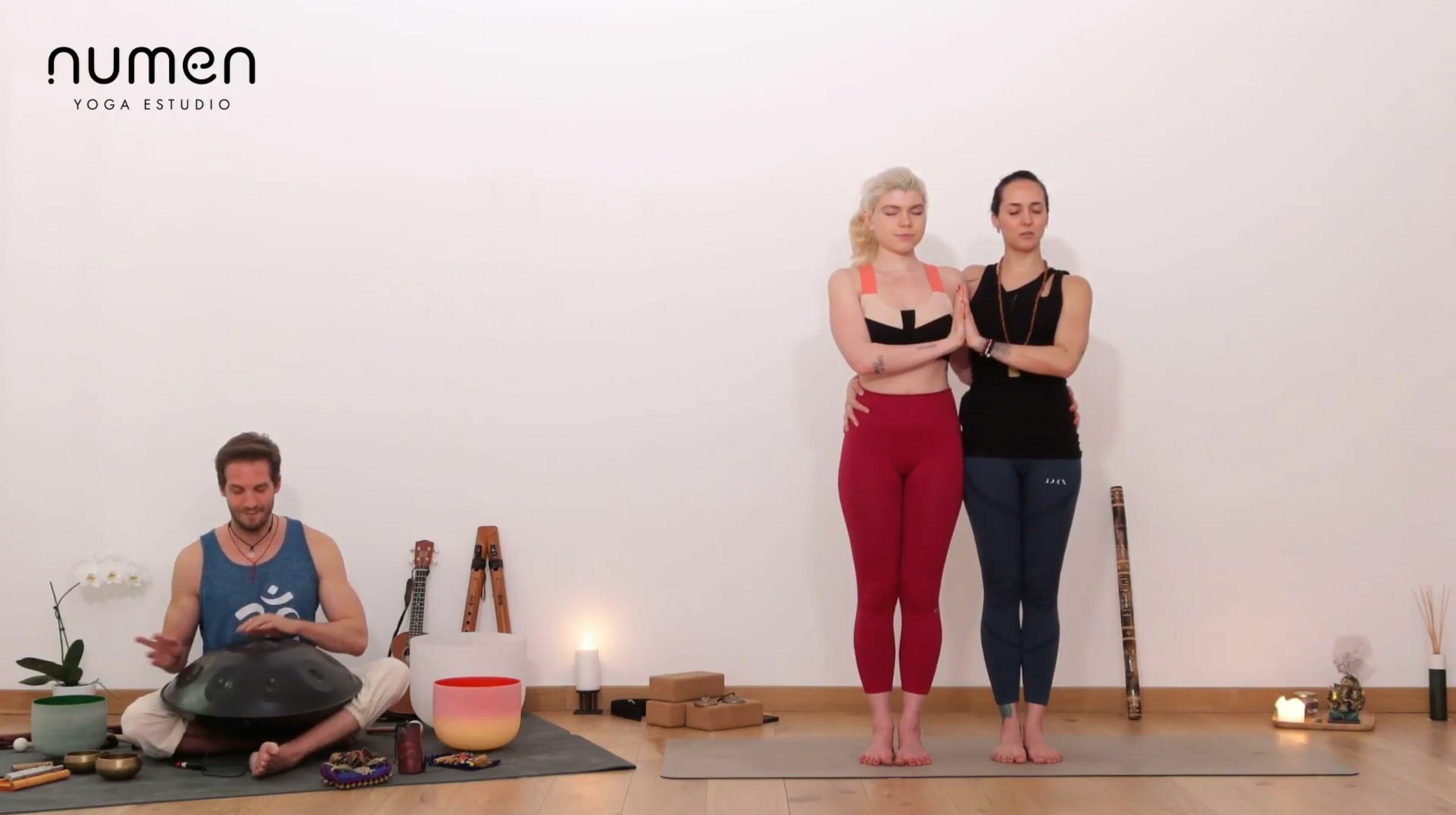 Yoga en parejas: reconocimiento del otro